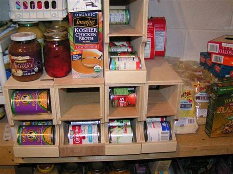 shelf plans diy fifo  storage kitchen  pantry organization