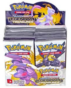 pokemon black and white 11 legendary treasures booster 6 box case