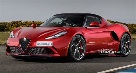 Alfa Romeo 4c Goes From Bugeyed To Mean Looking In