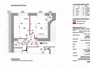 Projekt rekonstrukce bytu