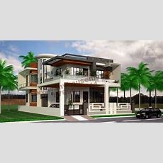 Home  Home Design House Elevation 3d