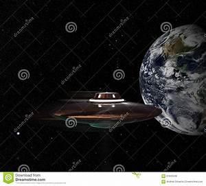 Unidentified Flying Object Stock Illustration - Image ...