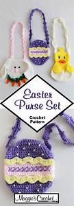 Easter Purse Set Crochet Pattern In 2020