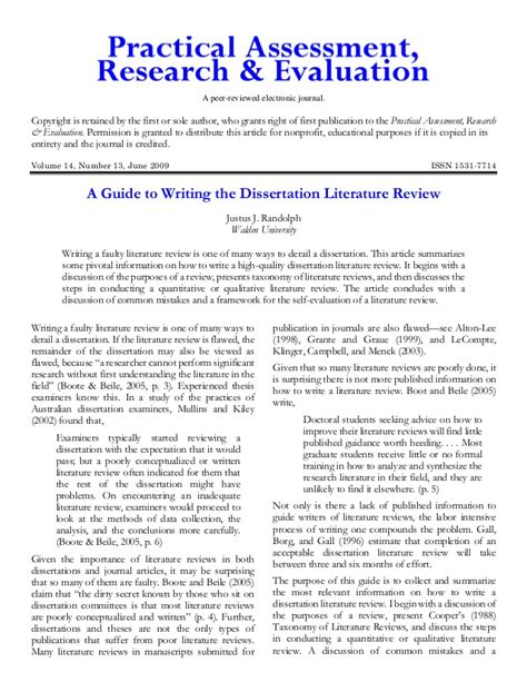 Literature Review Dissertation Proposal Essays On Evolution Sample