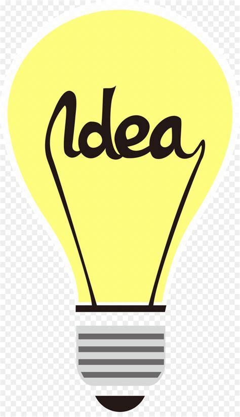 incandescent light bulb yellow lamp business vector