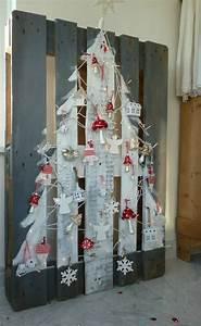 Decoration De Noel 2017 : faire un sapin de no l en utilisant une palette de bois ~ Melissatoandfro.com Idées de Décoration