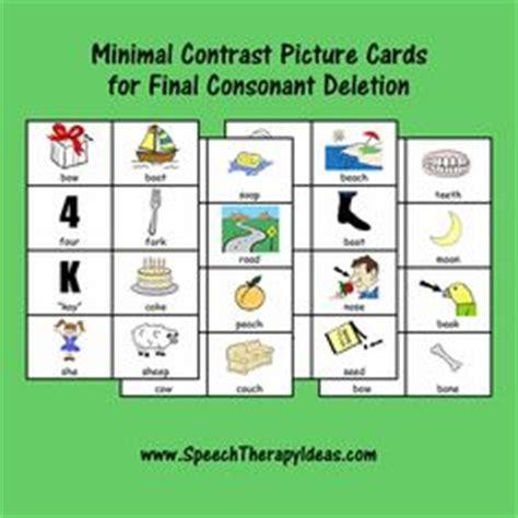 final consonant deletion images final consonant
