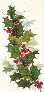 1000 images about Painting Holly for Christmas on