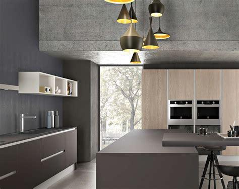 cuisine four a bois davaus cuisine gris laque et bois avec des idées