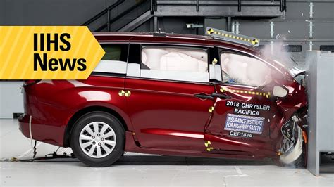 Minivans Crash Test by New Crash Tests And Latch Ratings For Minivans Iihs News