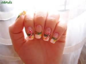 Candy cane nails christmas kawaii nail