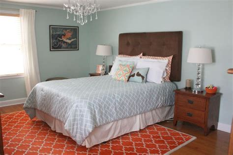 paint color with orange and warm um behr aqua smoke new home ideas