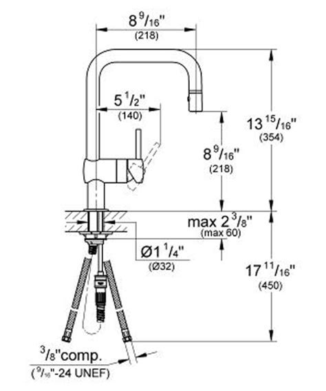 """GROHE   Minta Single lever sink mixer 1/2"""" 32319 000"""