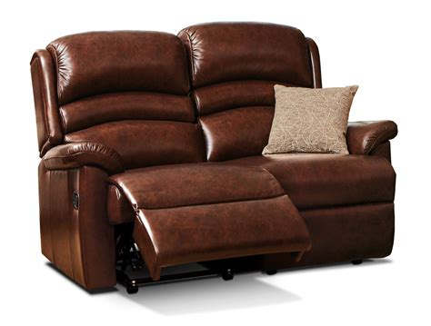 Reclining Settees by Standard Leather Reclining 2 Seater Settee