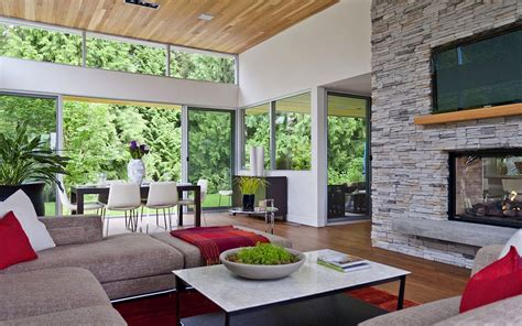 Casa Surrounded By Nature by Modern Home Surrounded By Nature In Vancouver Canada 4