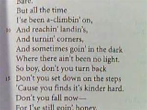 """Langston Hughes Poem """"Mother to Son"""" - YouTube"""