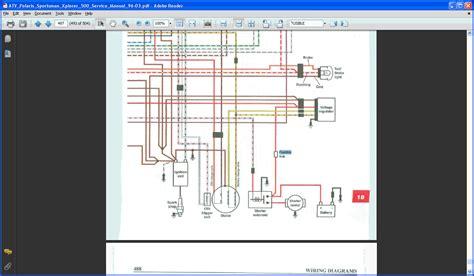 2002 polaris sportsman 500 ho wiring diagram 2002 polaris sportsman 500 autos weblog