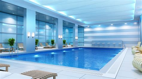 A Private Indoor Swimming Pool Design