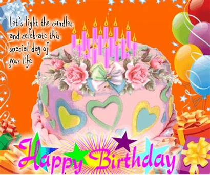 Candles Birthday Happy Let Greetings Card Lets