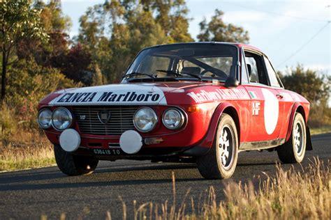 Driving The Lancia Fulvia 1.6hf Works Rally Car