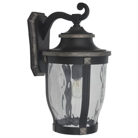 home decorators collection mccarthy 1 light bronze outdoor