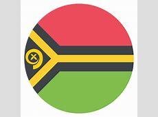 Vanuatu Flag Vector Emoji Icon Free Download Vector