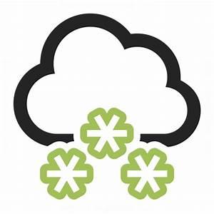 Cloud Snow Icon & IconExperience - Professional Icons » O ...