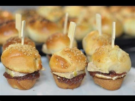hervé cuisine hamburger recette de noël mini burgers maison foie