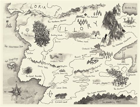 writers map  imaginary worlds atlas obscura
