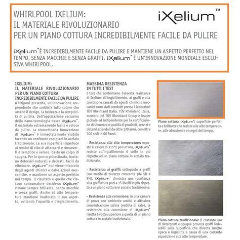 marche piani cottura whirlpool piano cottura linea fusion ixelium supreme
