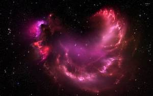 Beautiful sparkly pink nebula wallpaper - Space wallpapers ...