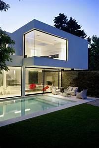 Maison Moderne Toit Plat : la maison cubique en 85 photos maisons cubiques maison ~ Nature-et-papiers.com Idées de Décoration