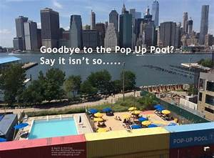 Pop Up Pool : goodbye to the pop up pool south brooklyn network ~ Orissabook.com Haus und Dekorationen