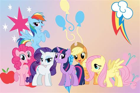 My Background Free My Pony Wallpapers Wallpaper Cave
