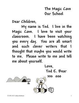 write  friendly letter kindergarten