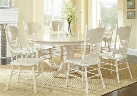 antique formal oval dining table arm  side chairs pc
