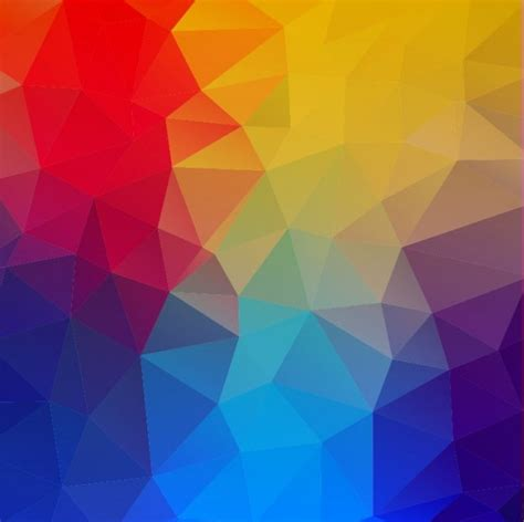colorful geometric shapes abstract background vector