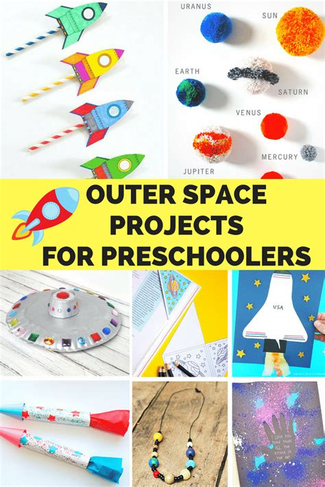 outer space crafts for preschoolers easy and educational 420 | Outer Space Projects for Preschoolers