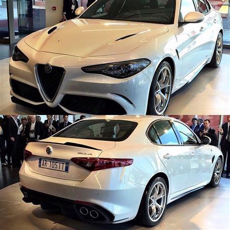 Take A Look At Alfa Romeo Giulia Qv In Pure White Carscoops