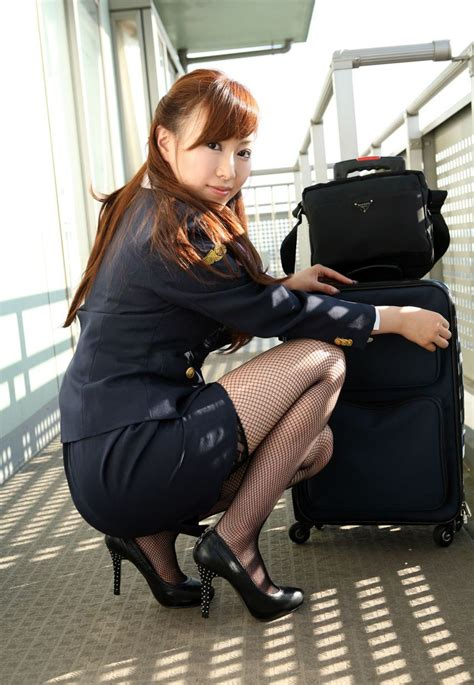 Jac Pretty Stewardess Costume ~ World Stewardess Crews