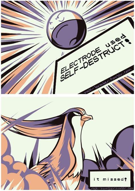 Know Your Meme Twitch Plays Pokemon - electrode used self destruct twitch plays pokemon know your meme