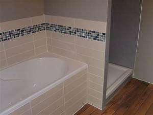 pose carrelage mosaique salle de bain With pose carrelage salle de bain