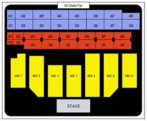 Wisconsin State Fair Grandstand Seating Chart