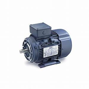Leeson Electric Motor  1  2 Hp  1800 Rpm  230  460v  3 Phase