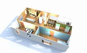 Plan Maison 3 Chambre #7 Maison Container 2014 EVTOD