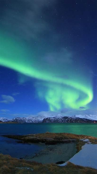 Lights Northern Norway Winter 5k Lake 4k