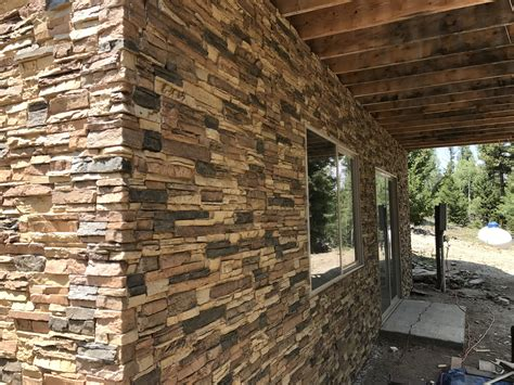 Finishing Exterior Foundation Walls  Creative Faux Panels