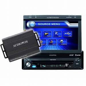 Audiovox Vme9309ts   Nav103 Navigation Multimedia System Front Usb  U0026 Aux Input