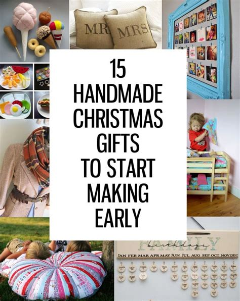how to make homemade gifts for christmas 15 handmade gifts to start now handmade gifts handmade