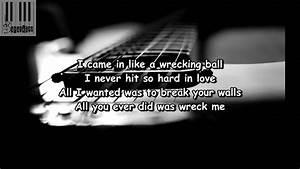 Wrecking Ball (Lyrics) / Boyce Avenue - Wrecking Ball ...